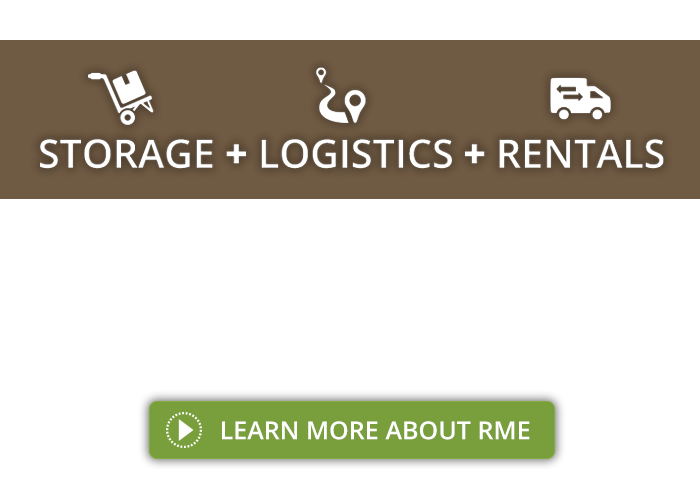 We offer Tradeshow Booth Storage, Logistics, and Rentals